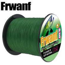 Frwanf 300M 330Yards 4 Strand PE Braid Fishing Line 6LB-100LB 0.10MM-0.55MM Super Strong Multifilament Fishing Lines