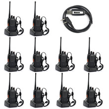 Hot 1Walkie Talkie 5W Handheld UHF 400-470MHz 16CH Two-way Portable Transceiver CB Radio With Battery DHL