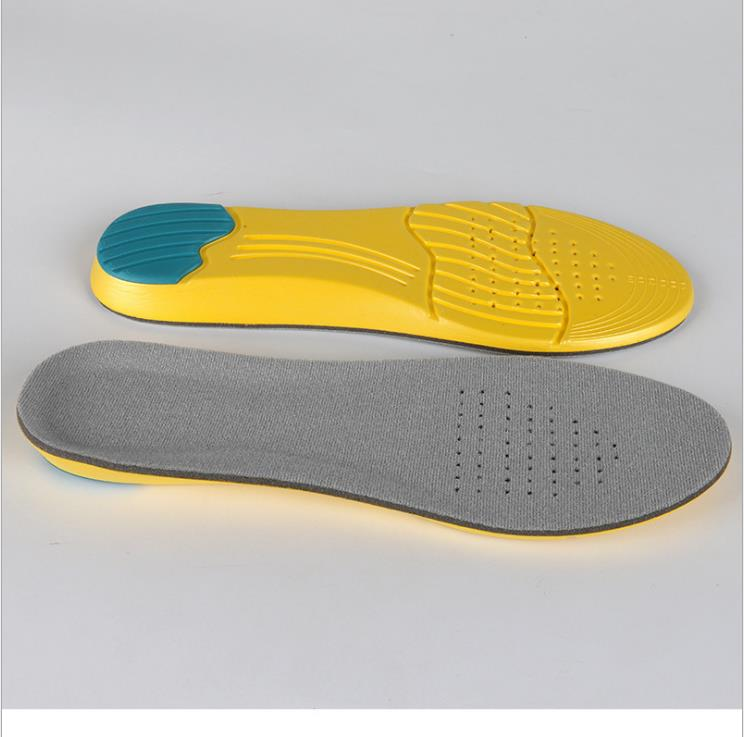 Sports insole breathable thickening and sweat absorption running sponge insole manufacturers wholesale Lw01