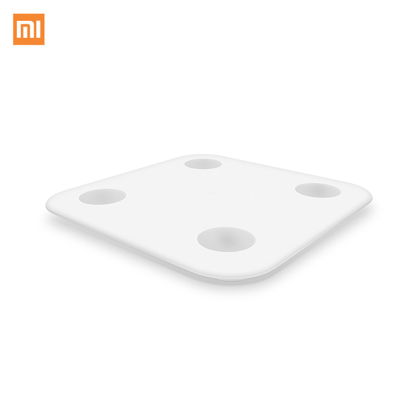 купить Xiaomi Mi Smart Scale Weight Health Mifit APP Body Composition Monitor Hidden LED Display And Big Feet Pad Body Fat BMR Test дешево