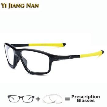 Sports Big Glasses Men Spectacle Frames Quality TR90 Optical Prescription Occhiali Da Vista Donna