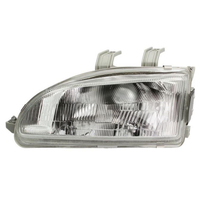 Headlight Left fits HONDA CIVIC 3/4 Doors 1992 1993 1994 1995 Headlamp Left Glass for Adjuster