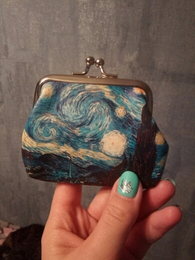 Vintage Women Printing Coin Purses Girl Hasp Zero Wallet Ladies Clutch Change Purse Female Mini Money Bag PU Leather photo review