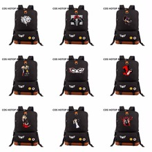 2018 NEW Backpack Persona 5 backpack Canvas cartoon Laptop bag bookBag women men Knapsack shoulder Packsack 14 Styles