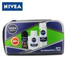 Набор № 65: Nivea for MEN для чувствительной кожи (пена для бритья, бальзам после бритья, дезодорант - шарик)(China (Mainland))