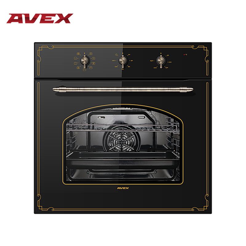 Built-in Electric oven with convection AVEX RBM 6090 W mixed convection in porous media with heat source sink