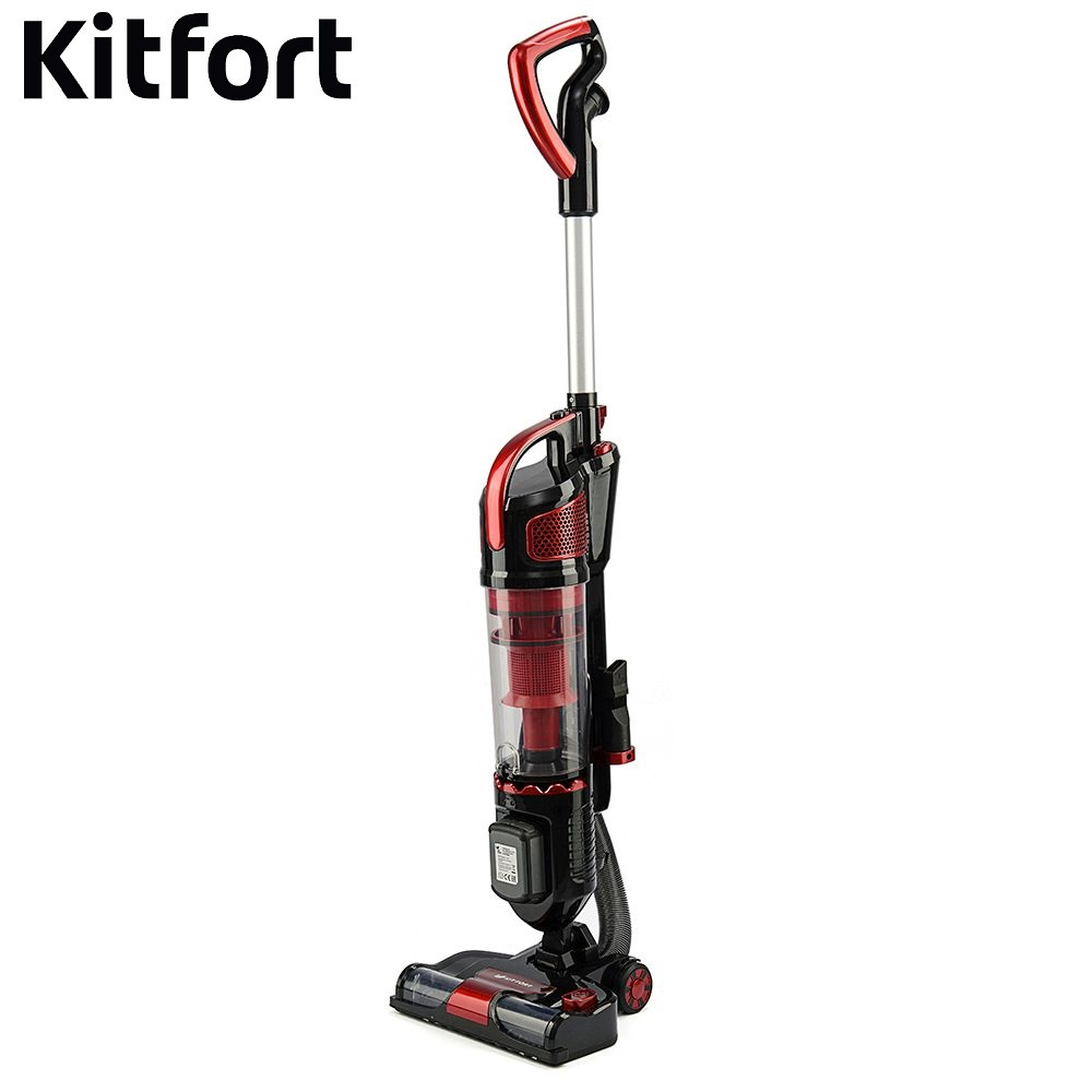Фото - Vertical vacuum cleaner Kitfort KT-521 Vacuum cleaner for home KT-521 Vertical Vacuum cleaner Wireless Vacuum cleaner vertical 161 vertical single joint potentiometer 50ka a50k potentiometer