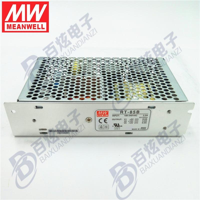 все цены на Originele Meanwell  RT-85B  88 W Triple output +5V/8A  +12V/3.5A   -12V/0.5A   Voeding 3years Warranty онлайн
