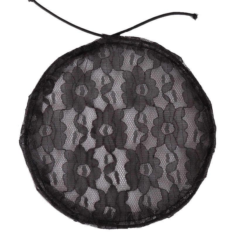 Горячая качественная сетка для волос для изготовления конского хвоста с регулируемым ремешком на спине ткацкая шапочка сеточка для парика сетки для волос