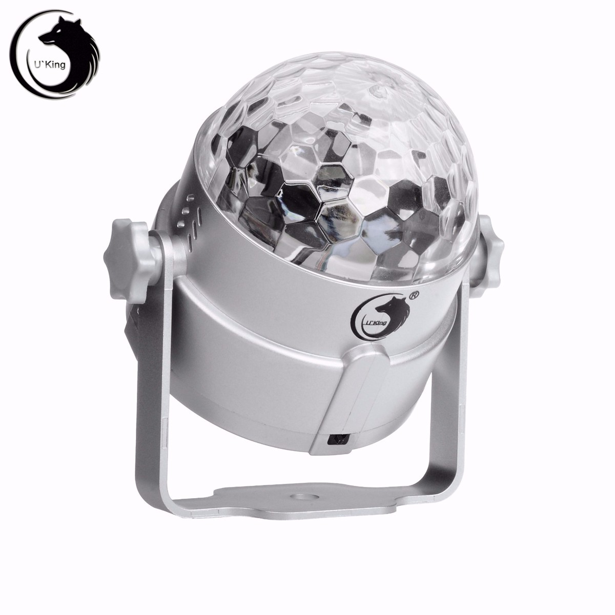 Voice Control Auto 3 Color LED Magic Stage Light Crystal Ball Night Lamp Hanging Club Pub Bar Disco Wedding Party Show Lighting mipow btl300 creative led light bluetooth aromatherapy flameless candle voice control lamp holiday party decoration gift