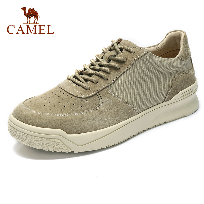 CAMEL New Men's Casual Shoes Genuine Leather Shoes Men Tooling Work Shoe Soothing Soft Shock Quality Male Footwear