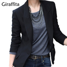 New Fashion Spring Autumn Women Slim Blazer Feminino Coat Casual Jacket Long Sleeve Suit Black Ladies Blazers Work Wear Size 3XL