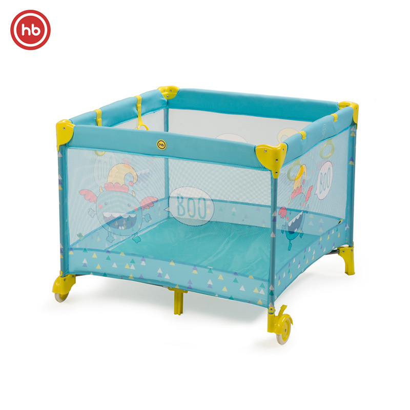 Baby Playpen Happy Baby Alex environmental pine wood newborn baby bed playpen wooden bed rocking cradle baby crib comfort swing