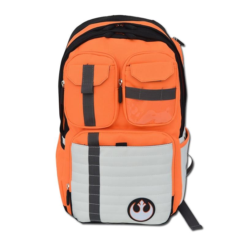 New Design Star Wars Backpack Rebels Logo Alliance Icon Teenager Preppy School Bag Wholesale Children Schoolbag Men Rucksack цены онлайн
