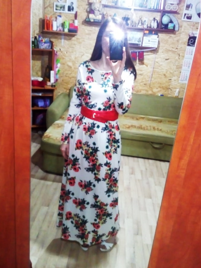Xxl Plus Size Long Dress Women Autumn Printed Maxi Dress Dropship Casual Floor Length Sundress Pockets Party 7 Colors photo review