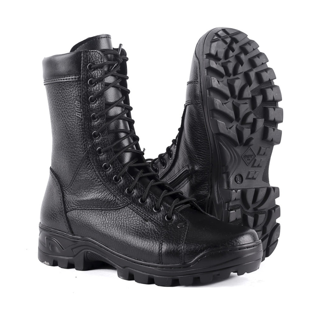 Winter Man Ankle Boots With Fur Military Army Shoes High Quality Fabric And Rubber Casual Shoes 0054/1 ZA