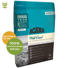 Корм Acana Dog Wild Coast для щенков и взрослых собак, Рыба, 2 кг.