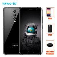 Vkworld K1 4G смартфон на Android с поддержкой LTE 8,1 Oreo mt6750t восемь ядер 4G B + 6 4G B 4040 мАч 21MP 3 камеры 5 В/3A Quick Charge мобильного телефона