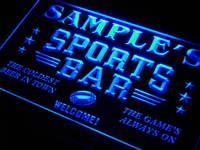 Tj Tm Name Personalized Custom Sports Bar Beer Pub Neon Sign
