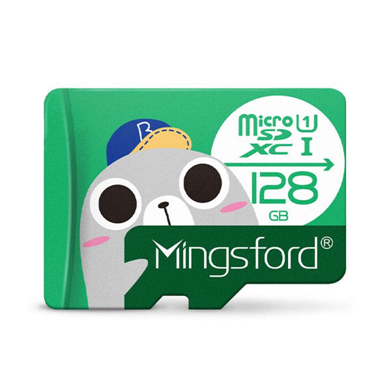 Dropshipping for Mingsford Seal Edition Action sport Accessories 16GB 32GB 64GB 128GB U1 Micro SD TF Memory Card for Photography