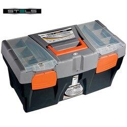 Ящик для инструмента STELS 90705 (Размер 50х26х26 см, полипропилен, съемный 3-секционный лоток, 2 встроенных органайзера с крышкой)