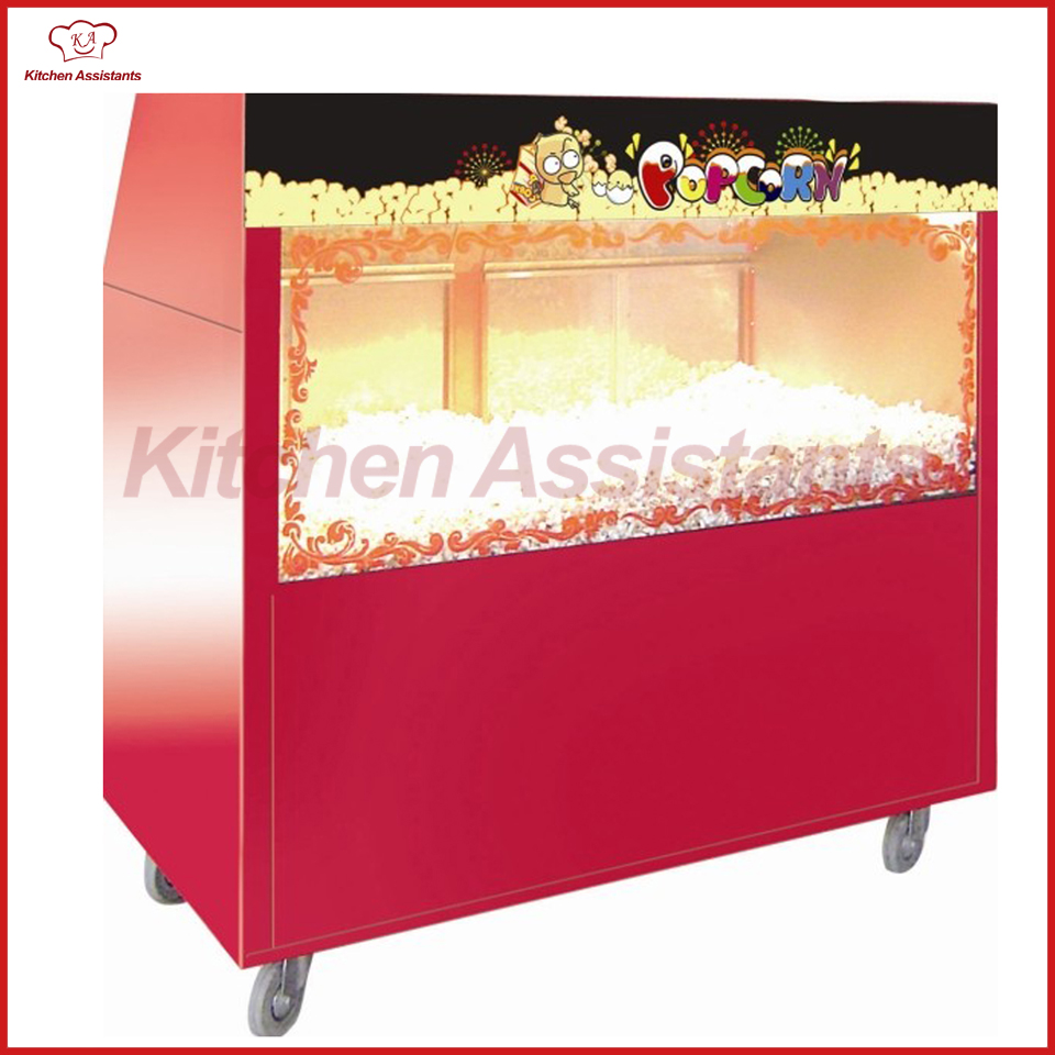 BV1220 Popcorn Warming Showcase Electric of catering equipment acid rain global warming depletion of ozone layer