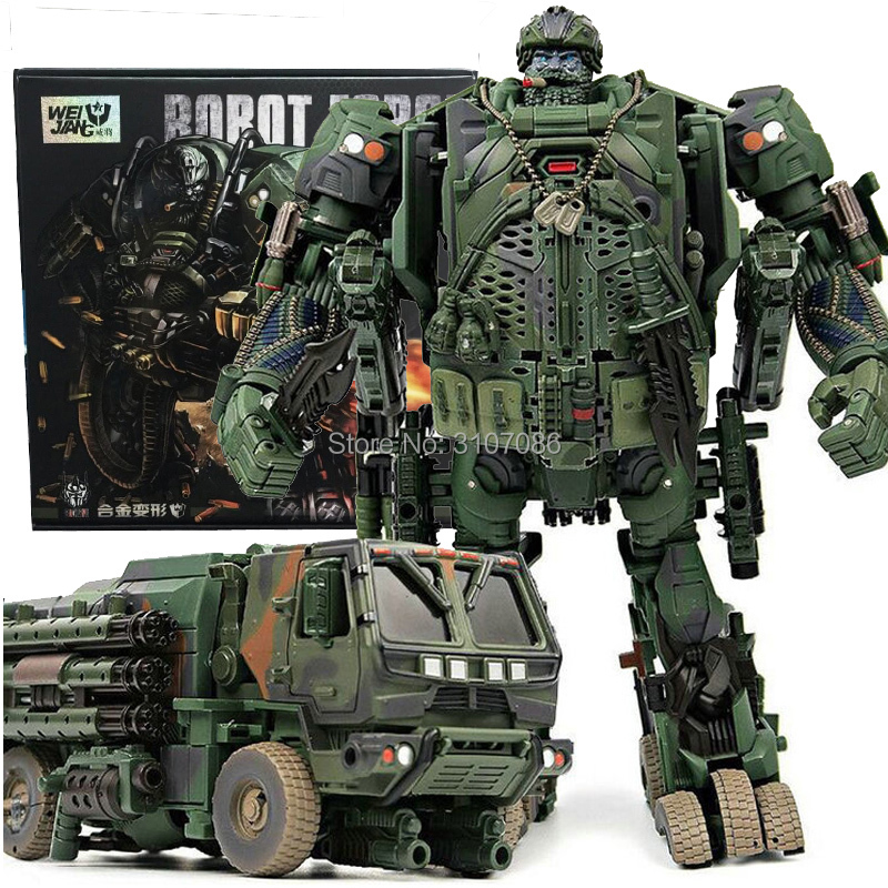 TF Transformation hound Camouflage Smoke Detective Truck Model INSPECTOR Action Figure Oversize Robot Toy