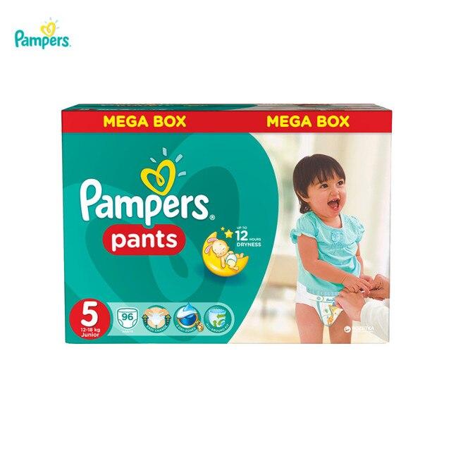 Подгузники-трусики PAMPERS Pants Junior 12-18 кг Mega 96
