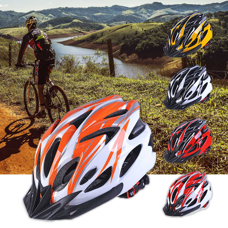 NEW 2019 Cycling Helmet Bike Hoverboard Unisex Cycle Helmets Protector Bike Bicycle Helmet Adjustable Multi Color Helmet