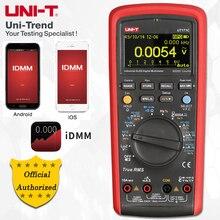 UNI-T UT171A/UT171B/UT171C промышленные истинные RMS Цифровые мультиметры; VFC измерение, USB/Bluetooth связь