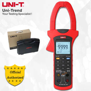 UNI-T UT243 Power and Harmonics Clamp Meter; True RMS Clamp Power Meter, Data Storage, USB Data Transfer / LCD Backlight - DISCOUNT ITEM  0% OFF All Category