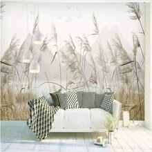 Простой герконовый Пейзаж декорации стены живопись профессиональное производство Фреска обои Фотообои
