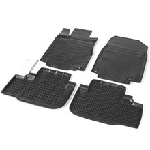 Для Honda CRV 2012-2015 коврики в салон 4 шт./компл. Rival 12101001