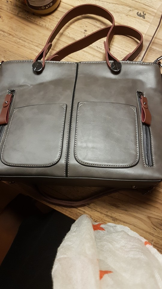 5 Reviews For Vintage Double Pocket Handbag