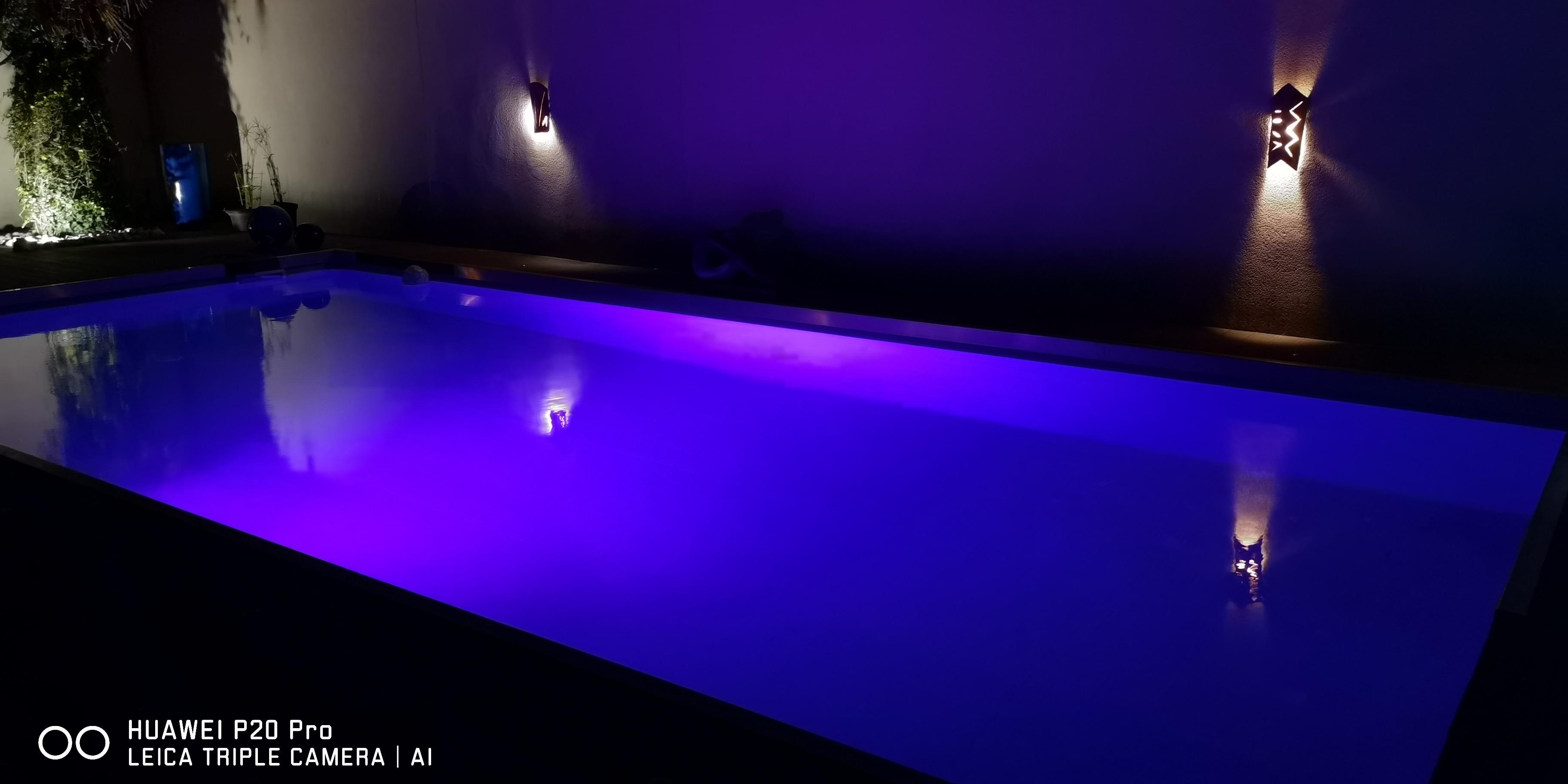 Luzes subaquáticas Piscina Faróis Branco