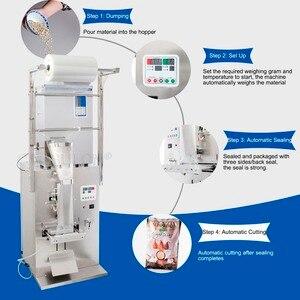 Image 2 - CapsulCN 1 999g التلقائي الشاي آلة التعبئة في أكياس/BFZZ 1 ماكينة التغليف الأتوماتيكي للحبوب (220 فولت/110 فولت)