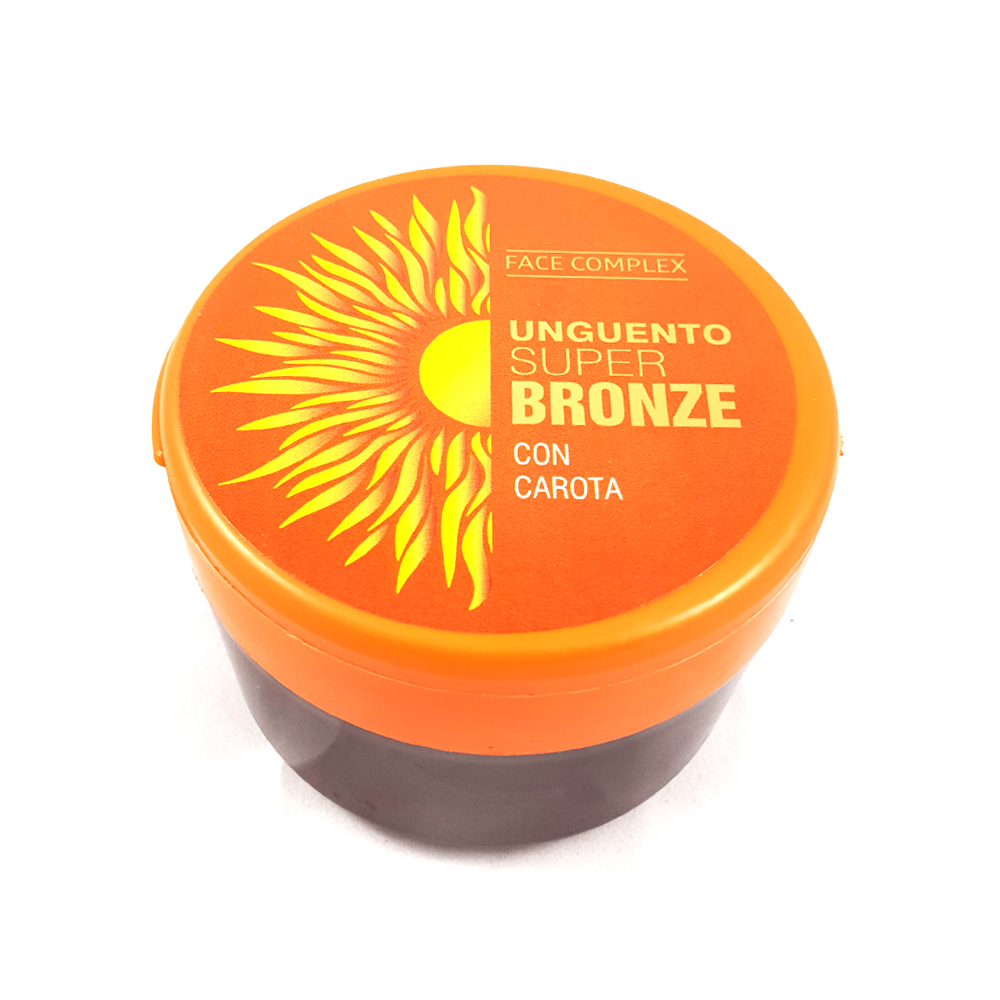 FACE COMPLEX OINTMENT BRONZING SUPER BRONZE VARIOUS CREAMS 200ML FRAGRANCES CARROT-9267
