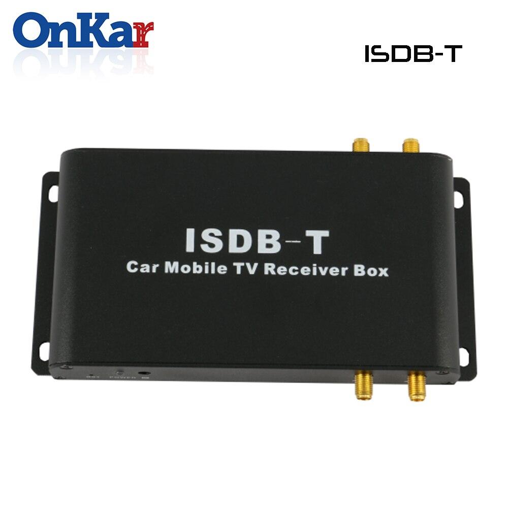 ISDB-T de voiture ONKAR récepteur de télévision numérique HD 4 antennes USB HDMI