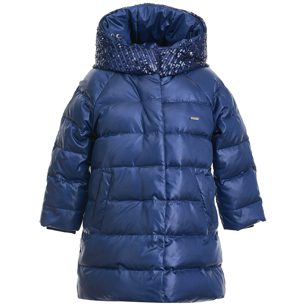 Jackets & Coats Gulliver for girls 21802GMC4504 Jacket Coat Denim Cardigan Warm Children clothes Kids globo спот globo elliott 54351 4