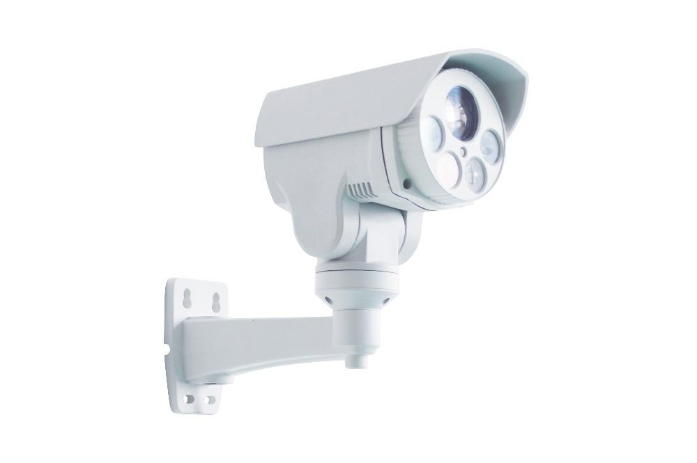 2mp 4X Optical zoom IP CCTV security camera with POE, Alarm audio
