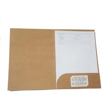 Darmowa wysyłka A4 papier pakowy rozkładana teczka klip organizator uchwyt na papier folder na dokumenty biurowe i szkolne tanie i dobre opinie kraft S0066 yinglon Inne