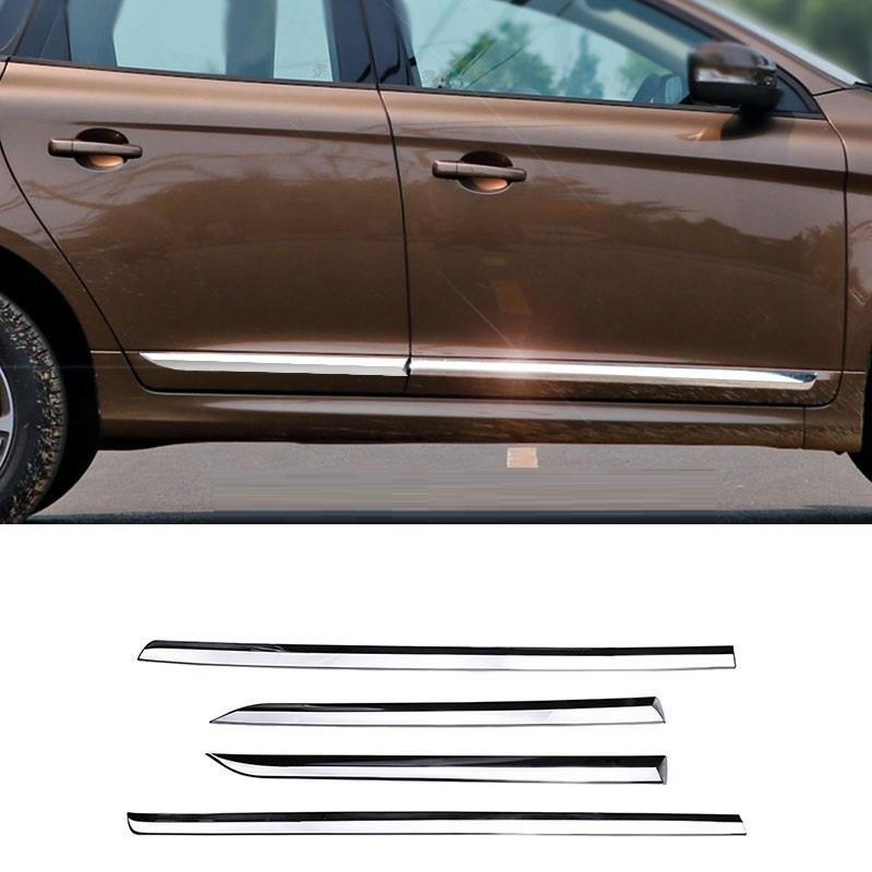 Body Rear Panels Foot Pedal exterior Excent automobile accessory car styling sticker strip parts 14 15 16 17 FOR Volvo XC60 мали мари глянцевая резина c6467