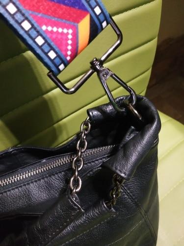 New Fshion Design 120cm Adjustable Bag Strap For Women's Handbag Shoulder Bag Strap Rivets Cross Body Messenger Bag Belt 50% photo review