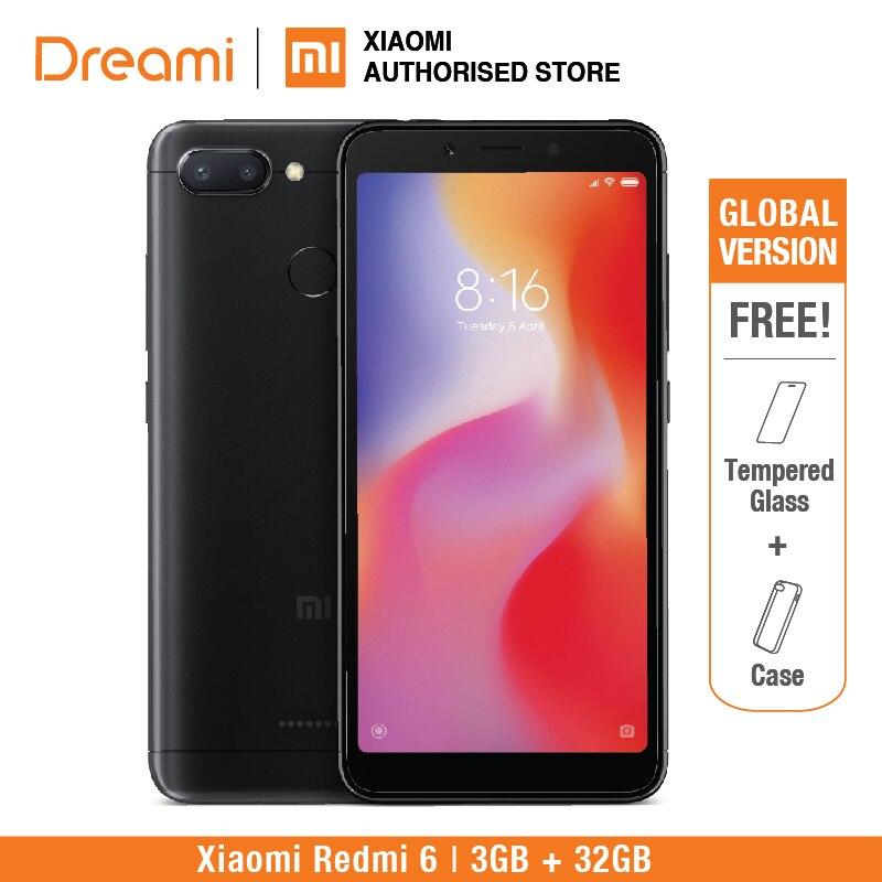 Versión Global Xiaomi Redmi 6 32GB ROM 3GB RAM (Nuevo y Sellado)
