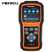 FOXWELL NT630 EIite Car Engine ABS SAS Airbag SRS Crash Data Reset via OBD2 Diagnostic Tool Automotive OBDII Air Bag Scan Tools