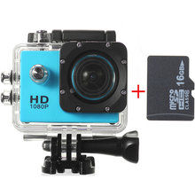 Black Pink Blue Silver Gold SJ4000 1.5 Inch HD Car 1080P DVR Sport Camera With 16GB MicroSD TF Memory Card For RC Drone