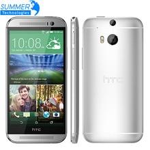Débloqué Original HTC One M8 Smartphone Guimauve Quad core 5.0» pouces 4G LTE 2G RAM 16 GB ROM 3 Caméras Mobile téléphone
