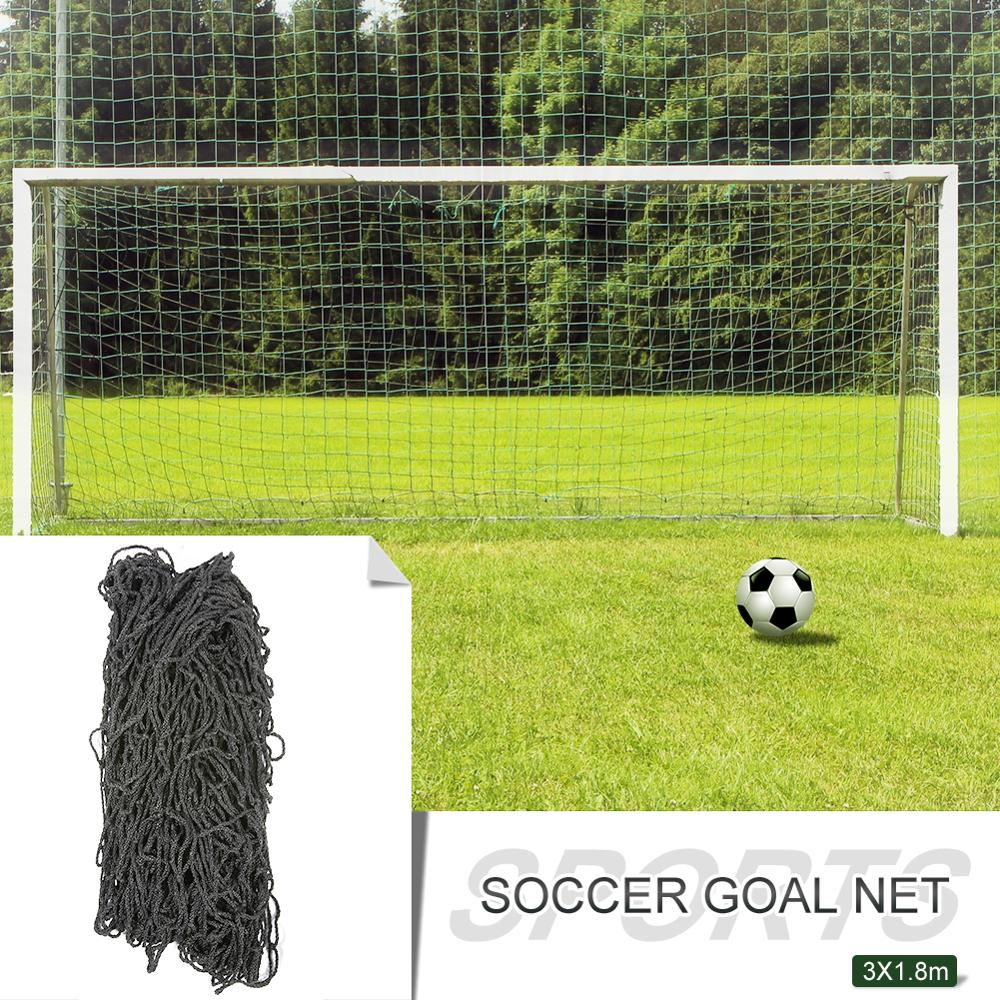 3x1.8m Soccer Football Gate Net Goal Post Net Portable Accessories Outdoor Football Team Sports Competition Training Tool