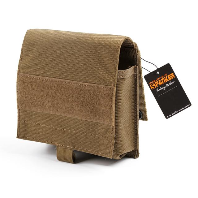 SPANKER Vest Accessory –  Molle Waist Pouch/Storage Bag