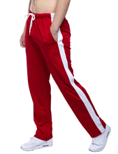 2018 Men Sport Running Pants Harem Pants Male Trousers Mens Loose Striped Pants Outdoor Sweatpants Large